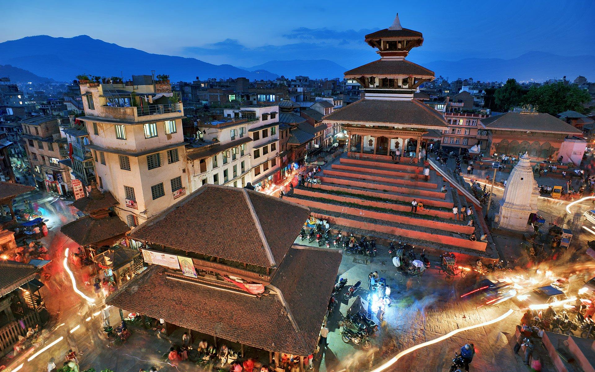 Kathmandu Durbar Square Nepal Manaslu Mountain Trail Race Manaslu