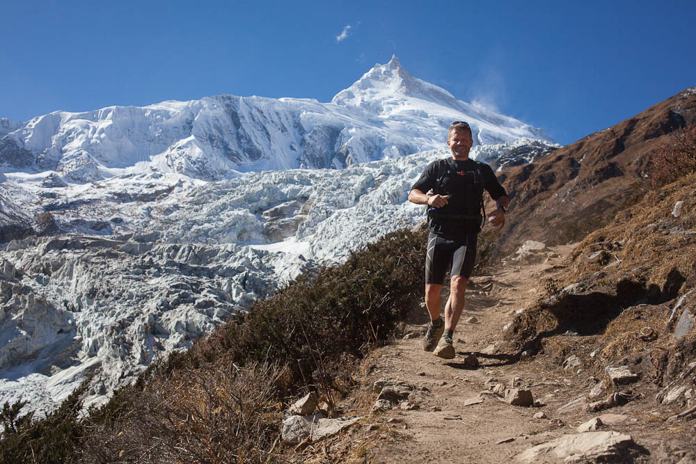 Manaslu base camp trail