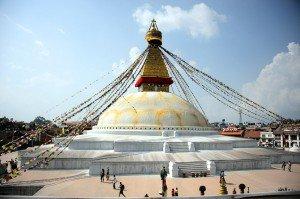 Bouddha stupa in kathmandu