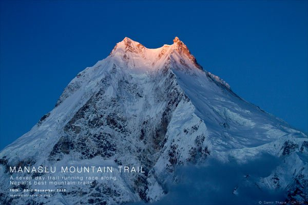 Manaslu mountain nepal desktop image