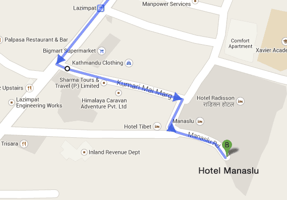 hotel-manaslu-location