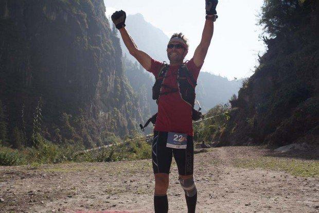 finisher of the manaslu trail race