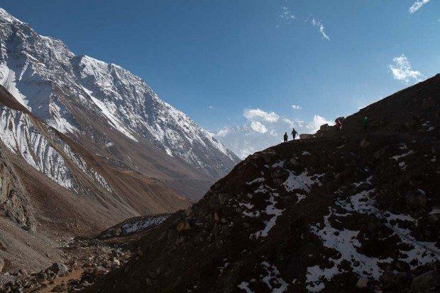 near samdo manaslu gorkha nepal